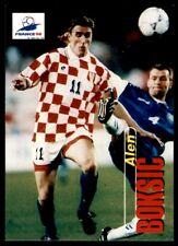 Panini France 98 Card - Alen Boksic Hrvatska No. 77