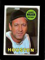 1969 TOPPS #633 HARRY WALKER NM ASTROS MG  *XR12467