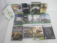 Mixed Video Game Lot Of Over 10 UNOPENED SEALED Nintendo Wii, Playstation, XBox