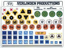 Verlinden Productions 1:35 Nato Maneuver Markings Decal Diorama Accessory #335