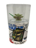 Star Wars Galactic Heroes Yoda Action Figure Figurine & 100 Piece Puzzle - New