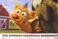 BARNYARD - Lobby Cards Set - Kevin James - Nickelodeon - ANIMATION