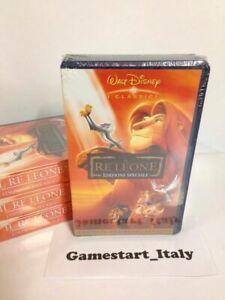 IL RE LEONE EDIZIONE SPECIALE - DISNEY - VHS - NUOVO SIGILLATO VERSIONE ITALIANA