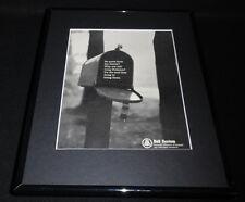 1966 Bell System Framed 11x14 ORIGINAL Vintage Advertisement