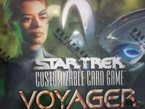 Star Trek CCG Voyager SINGLES 2nd TIER Select Choose NrMint-MINT