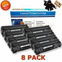 8pk CE285A 85A Toner Cartridge for HP LaserJet Pro P1102 P1102w M1212nf Printer