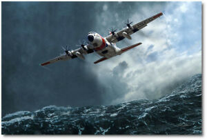 Super Hercules by Peter Chilelli - Lockheed HC-130 - Aviation Art Print