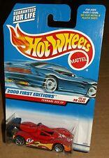 Hot Wheels 2000 #071 First Editions #11 of 36 Ferrari 333 SP WSPs 24374