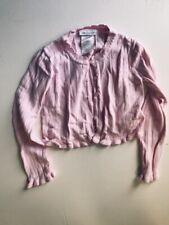 Bonnie Jean Pink Girls Size 6 Sweater