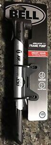 Bell Air Blaster 350 10 inch bike frame pump schrader & presta valves