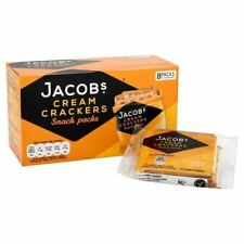 Jacobs Cream Crackers Snackpack 192g - (PACK OF 4)