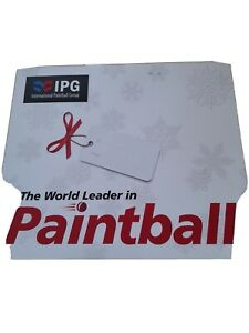 International Paintball Group (IPG). 2 packs of 10 tickets.