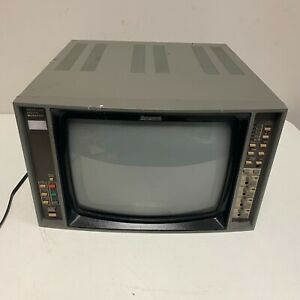 Ikegami-TM14-19R Color Video Monitor Vintage Gaming Tested and Working