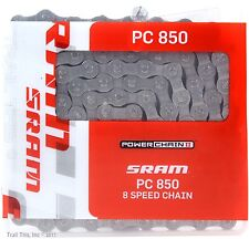 SRAM PC-850 5, 6, 7, 8-Speed Road / MTB Bike Chain 114L fits Campy FSA Shimano