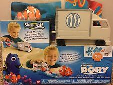Disney Finding Dory Swiggle fish Hank Truck Playset Gift birthday play toy fun