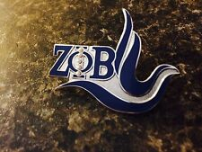 Zeta phi betaNew Logo Lapel Pin W/Pearls Great Crossing Over Gift
