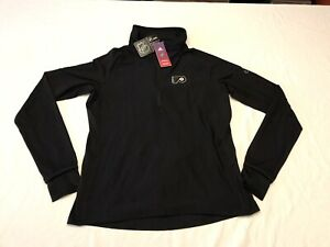 Adidas Climalite NHL Philadelphia Flyers 1/4 Zip Pullover Jacket Women's Size L