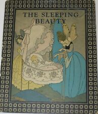 Rare 1921 The Sleeping Beauty & Other Old-Time Fairy Tales Rand McNally HC Book