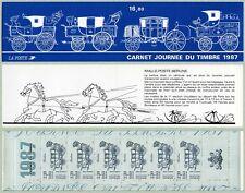 Bande Carnet BC2469A - Journée du timbre - Berline - Croix Rouge - 1987