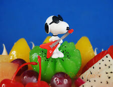 Peanuts Snoopy and Friends Guitar Party Like Rock Star Cake Topper Figure Model