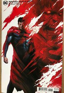 DCEASED DEAD PLANET #2 (NM) CVR B MATTINA VARIANT - 2020 DC COMICS JLA SUPERMAN