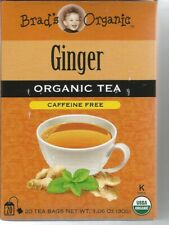 Brad's Organic Ginger Tea 20 Bag