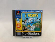 I PUFFI THE SMURFS PLAYSTATION 1 2 3 ONE PS1 PS2 PS3 PSX PAL ITALIANO COMPLETO
