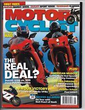 Motorcyclist Magazine May 2007- BMW R1200R, KTM 990 Superduke, Victory Hammer S