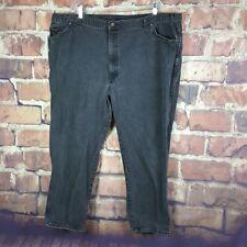 H.I.S. Mens Jeans Black Size 50X30 Actual 48X29