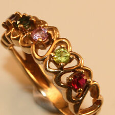 Ruby Yellow Gold 10k Fine Rings