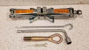 2008-2015 INFINITI G37 G35 G25 JACK SPARE TIRE TOOLS KIT SET OEM 08-15 Used