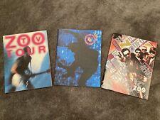 U2 Zoo Tv, Outside Broadcast, Zootopia 93 Concert Tour Programs Lot (1992, 1993)