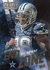 2014 Score Destination End Zone Gold #DE9 Dez Bryant Cowboys