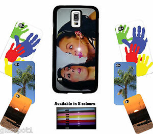 PERSONALISED CUSTOM PHOTO & TEXT PRINTED phone case cover fits Samsung Galaxy S5