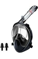 New listing Full Face Snorkel Mask Panoramic View Anti-Fog Anti-Leak.Size S/M.Used