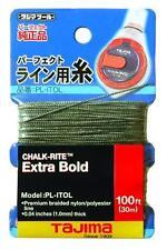 Tajima Chalk-Rite Premium Grade Extra Bold Nylon Line, 1 mm Thick by 100-Feet