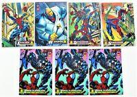 1994 Marvel Trading Cards Sets Sealed Spiderman