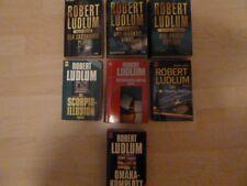 Bücherpaket Romane Robert Ludlum 9tlg.