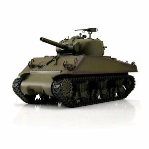 1/16 RC M4A3 Sherman Green BB + Ir Henglong