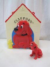 Scholastic CLIFFORD The BIG RED DOG  Playhouse Set Pretend Toy B8931