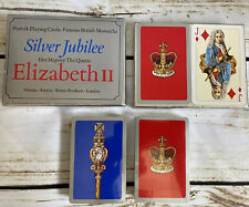 More details for piatnik - famous british monarchs - silver jubilee playing cards - sealed