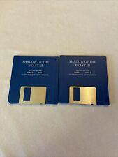 Vintage Amiga 3.5 Hard Disk floppy game Shadow of the Beast III