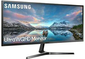"Samsung LS34J550WQUXEN 34"" Ultra Wide LED Monitor - WQHD - SJ55W - S34J550WQUXEN"