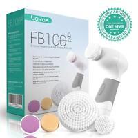 Limpiador Facial Electrico 5-In-1 Cepillo  Giratorio  5 Cabezales  Diferentes