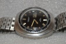 Vintage Mens Divers Watch Caravelle by Bulova  42mm Automatic  Stainless Steel