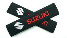 Seat Belt Shoulder Strap Pads SUZUKI Grand Vitara SX4 Kizashi Swift Cappuccino