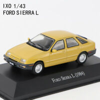 IXO Scale 1/43 Ford Sierra L 1984 Collectible Diecast Car Model Display Gift