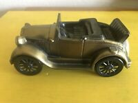 1929 Ford Convertible Coin Bank Made USA Eureka, Kansas Federal Savings & Loan