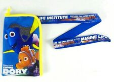 Disney's Pixar Finding Dory Lanyard Ticket Fast Pass ID Badge Holder Wallet