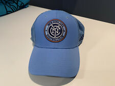 New York City FC Adidas Stretch Fit Cap L/XL